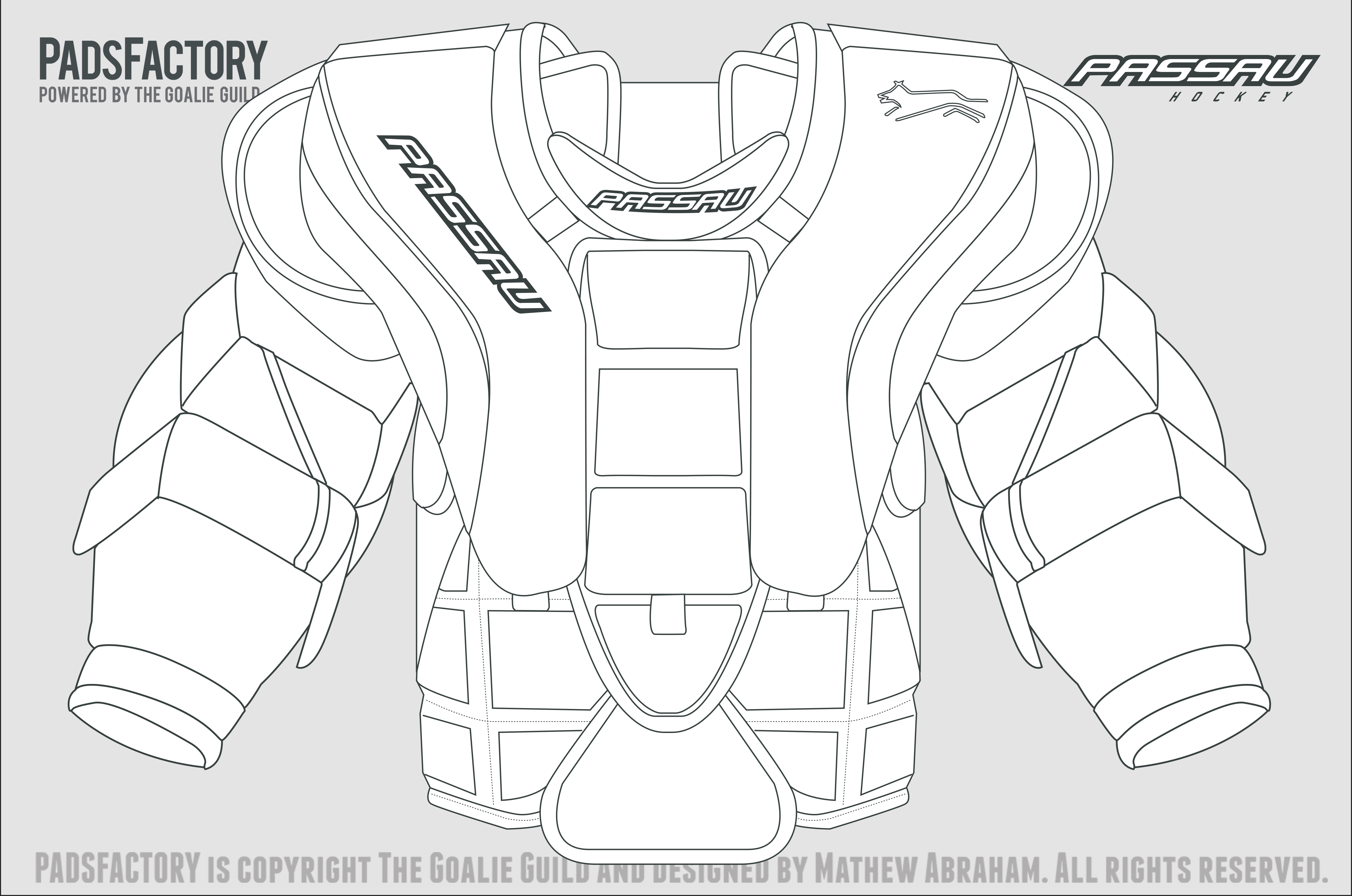 Bauer goalie mask template the image for Bauer goalie mask template