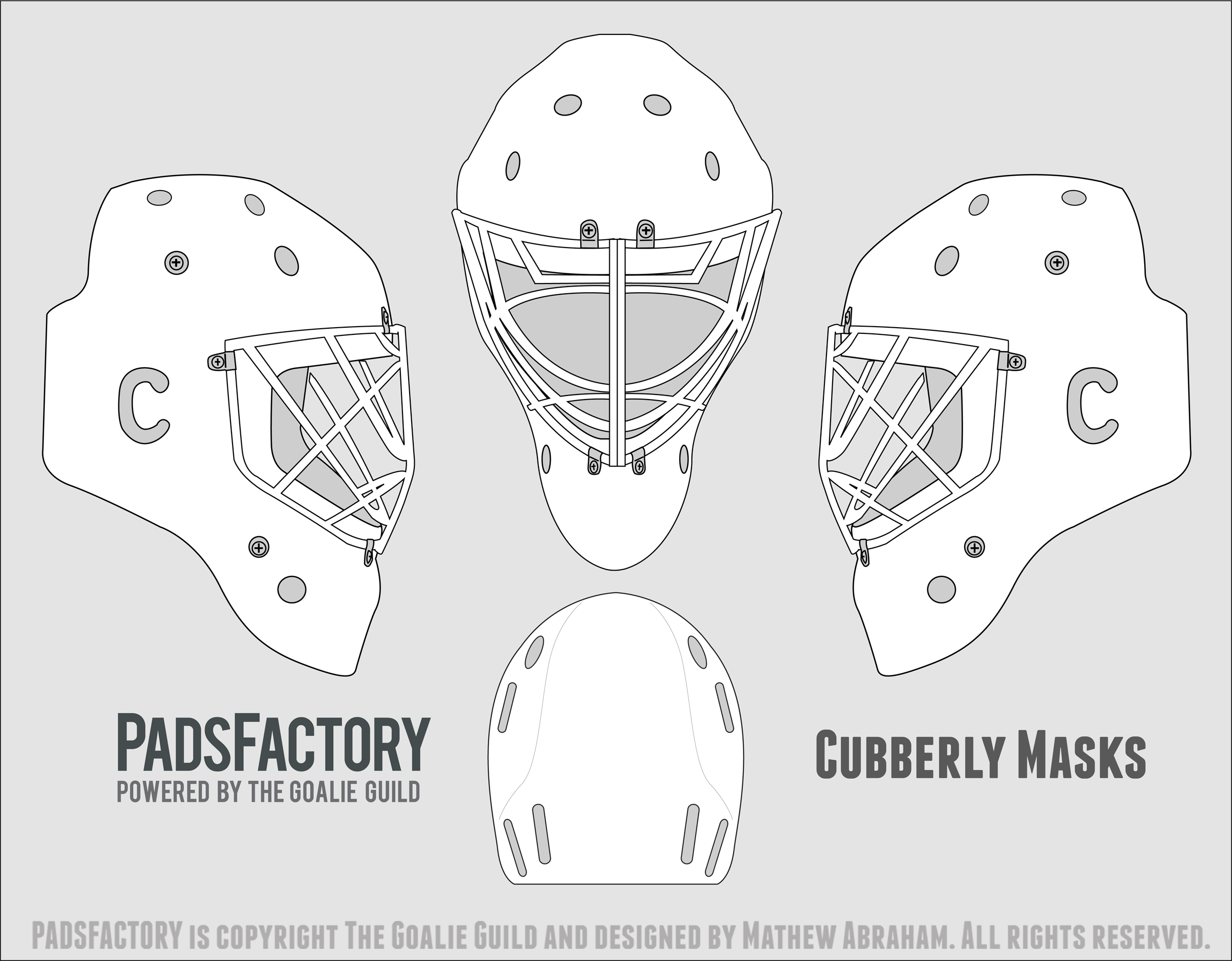 Mask Templates – The Goalie Archive