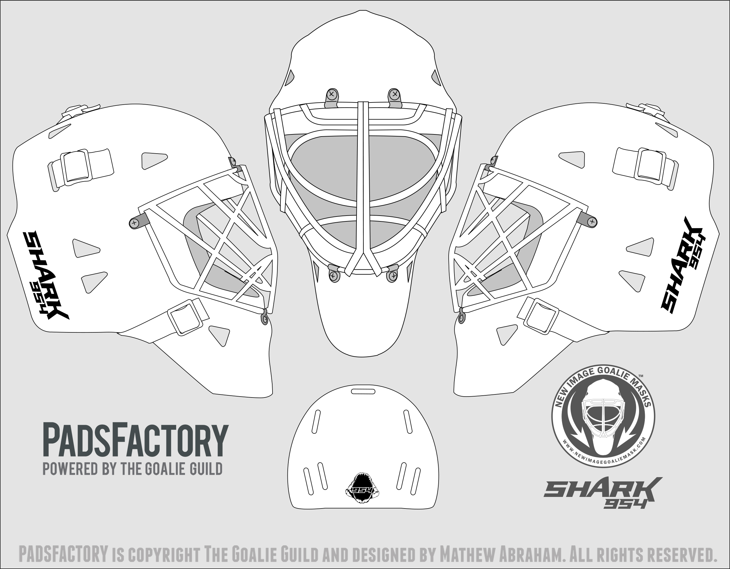 Mask templates the goalie archive mask templates maxwellsz