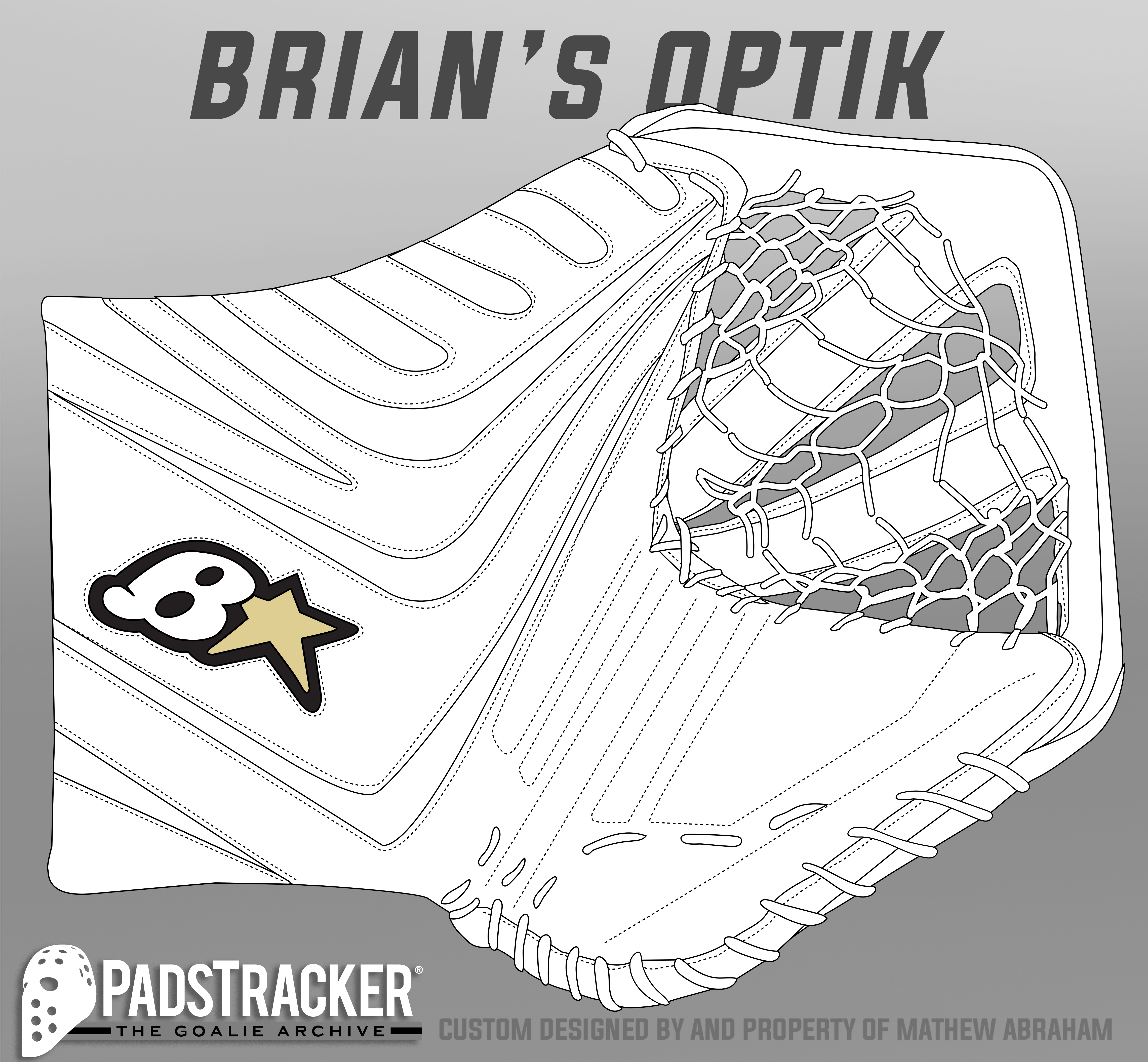 Pads & Glove Templates – The Goalie Archive