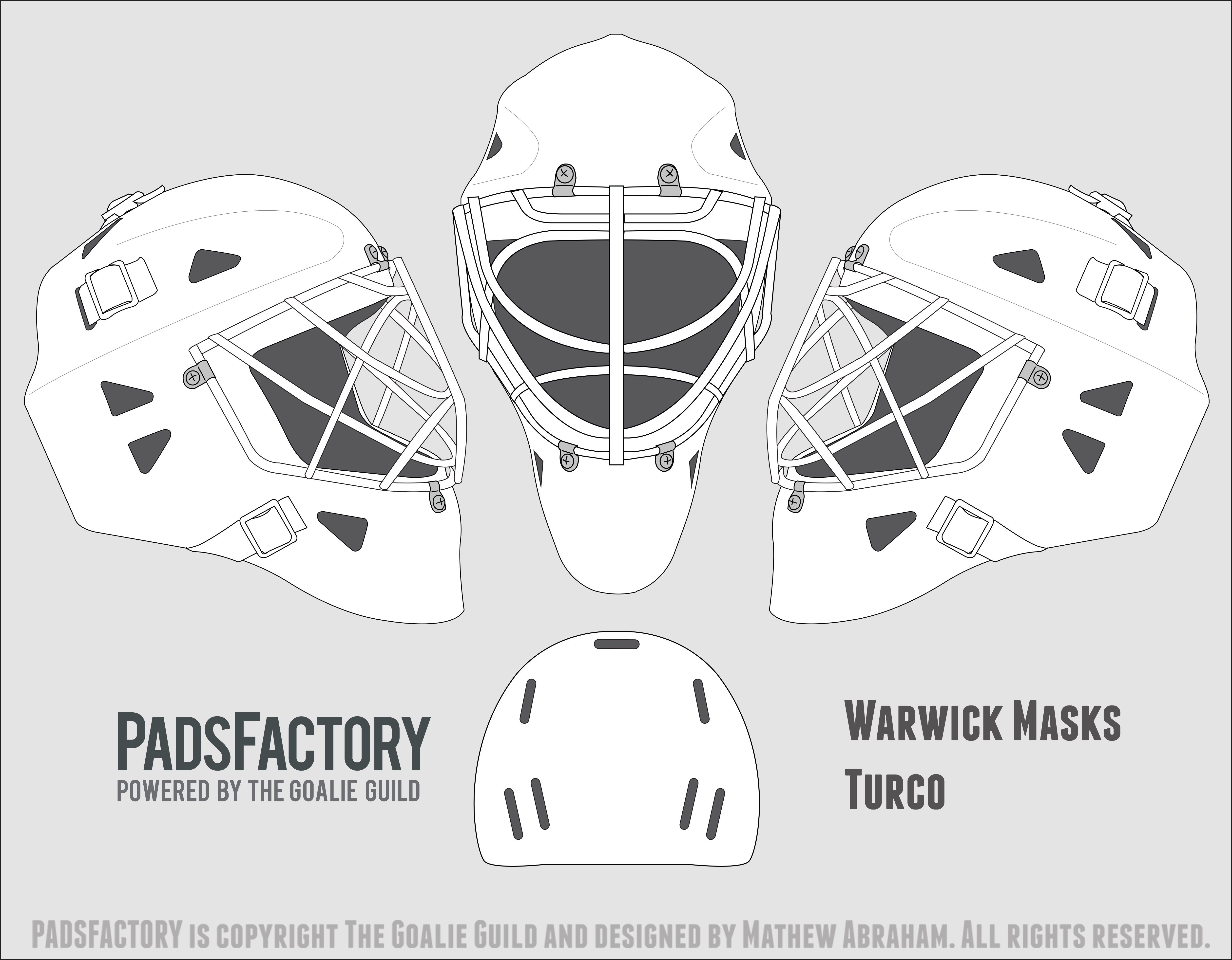 Mask Templates - The Goalie Archive